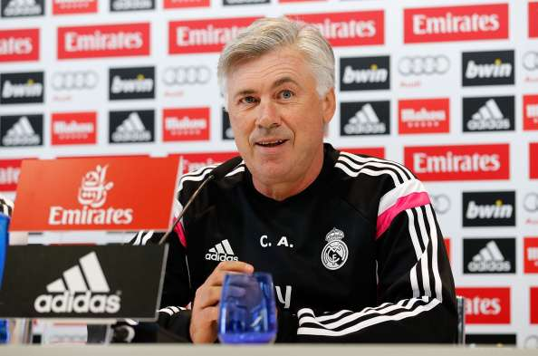 Ancelotti afirma estar encantado con su actual plantilla. Foto: Getty Images