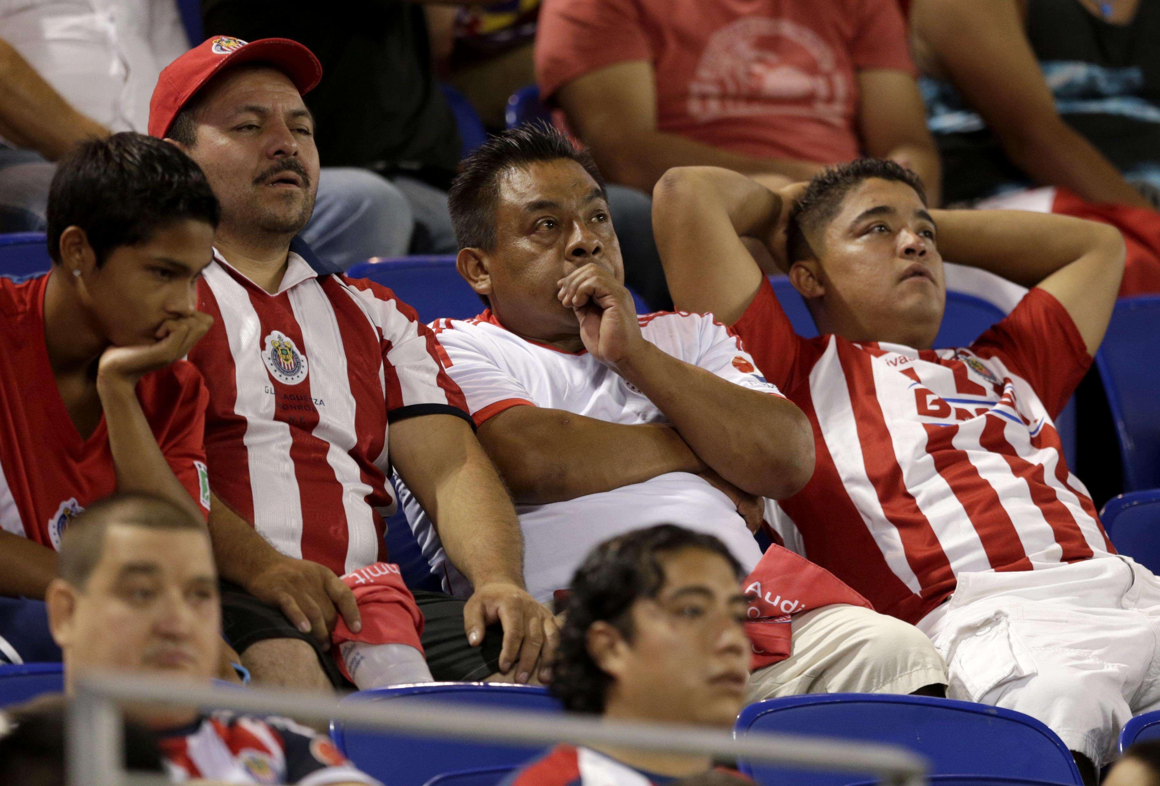 Chivas fans. Foto: AP en español