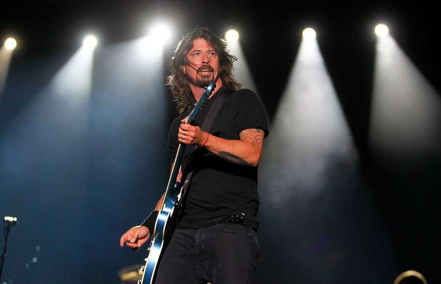 La última vez de Foo Fighters en Chile fue en Lollapalooza 2012. Foto: Agencia UNO