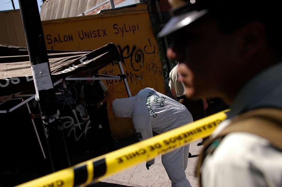 La funcionaria policial era familiar de la víctima. Foto: Agencia UNO