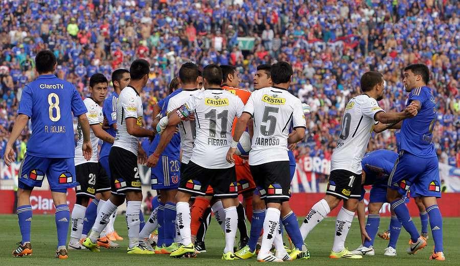 Superclásico del fútbol chileno será el 19 de octubre. Foto: Agencia UNO