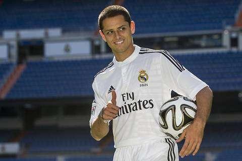 'Chicharito' ha jugado 27 minutos con el Real Madrid. Foto: AP en español