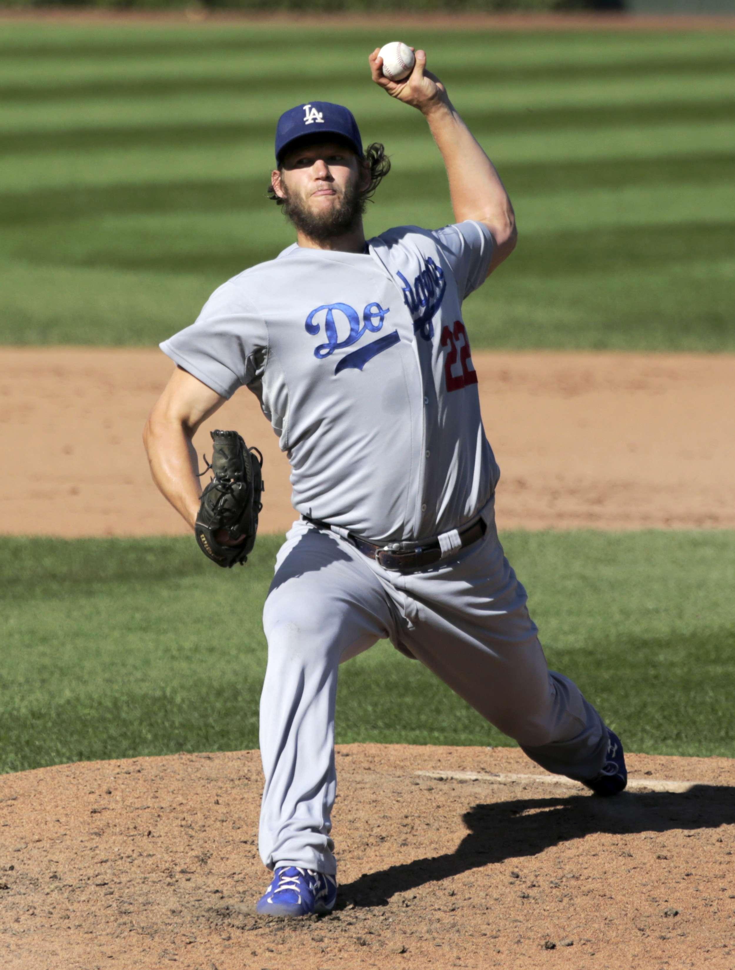 Clayton Kershaw es el mejor lanzador de las Grandes Ligas y candidato a Jugador Más Valioso de la campaña. Foto: AP