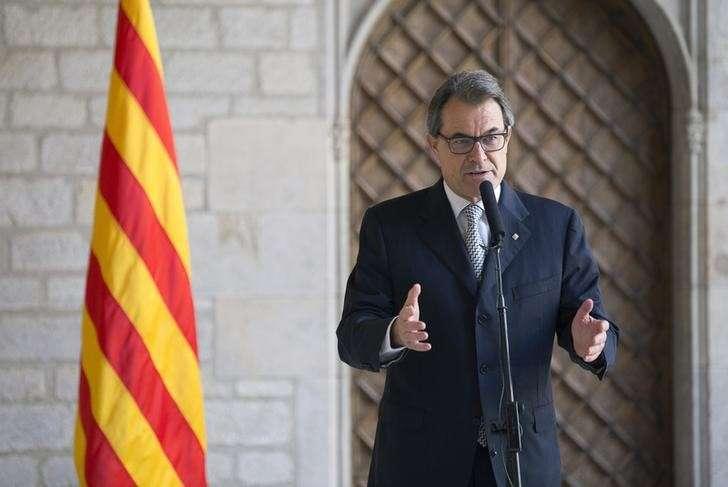 Líder da Catalunha afirmou que vai sancionar decreto para referendo em novembro Foto: Stringer/Reuters