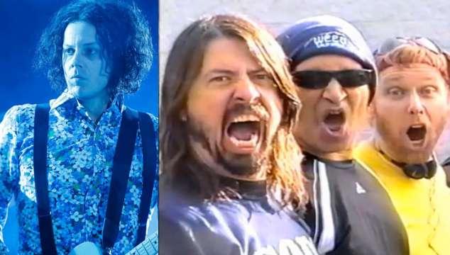 Foo Fighters responde ante las críticas de Jack White Foto: Difusión
