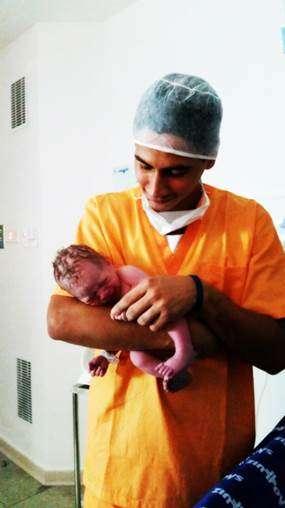 Ganso comemora nascimento do segundo filho Foto: Divulgação
