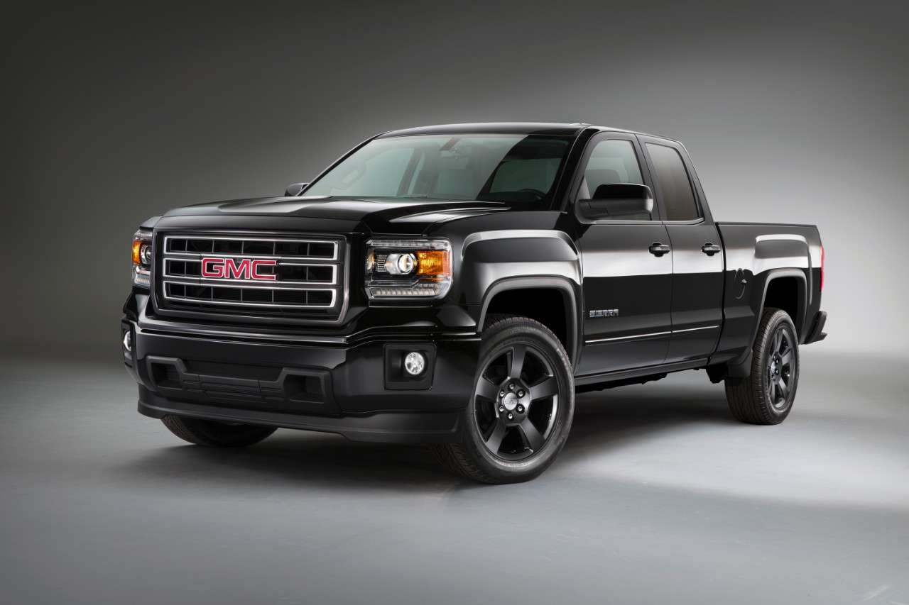 GMC Sierra Elevation Edition 2015 Foto: GMC