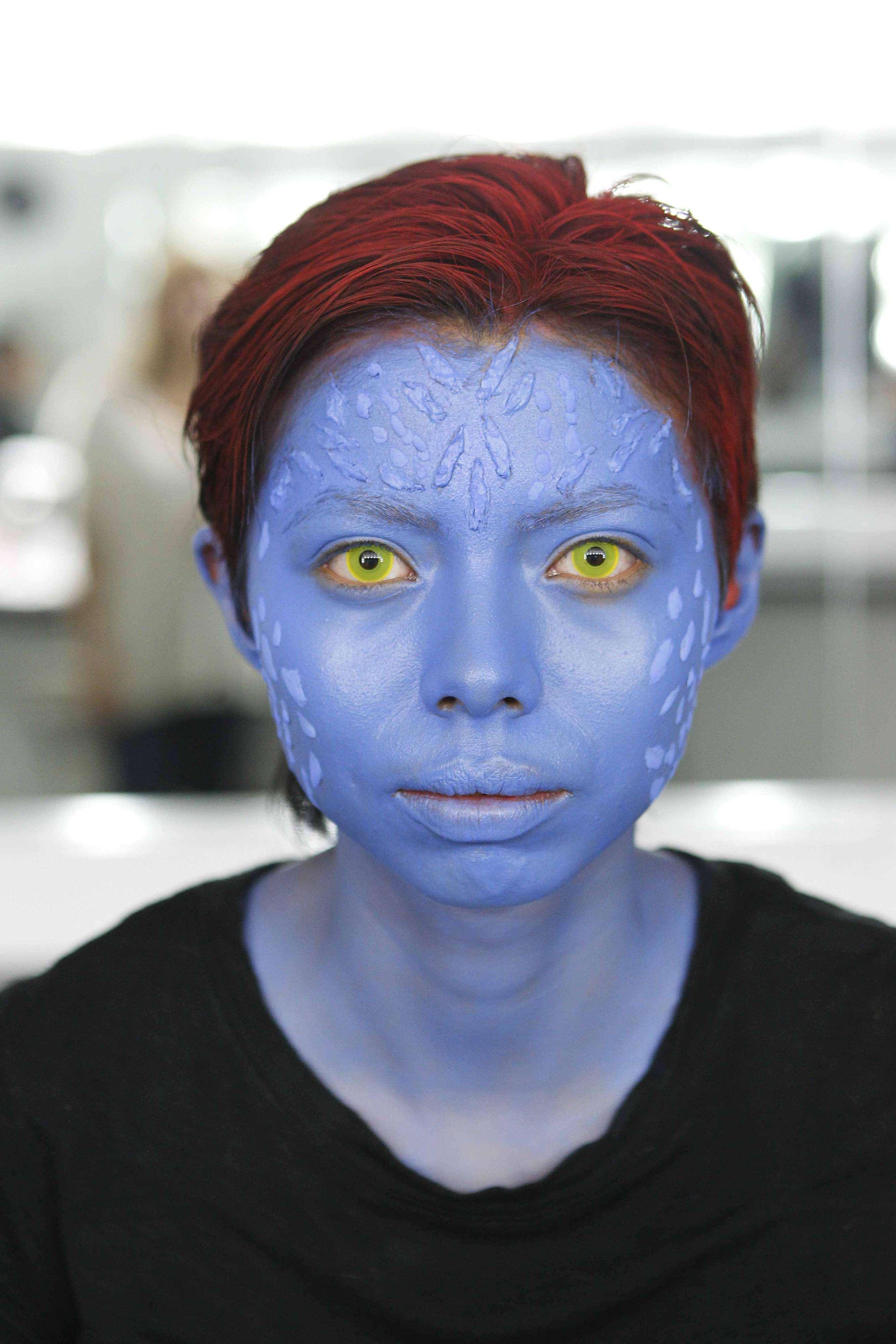 Tutorial de maquillaje de Halloween Mystique Foto: Ulises Bravo/Terra