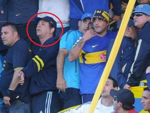 """Cristian """"Fido"""" Debaux, nuevo líder de la barra de Boca Foto: Web"""