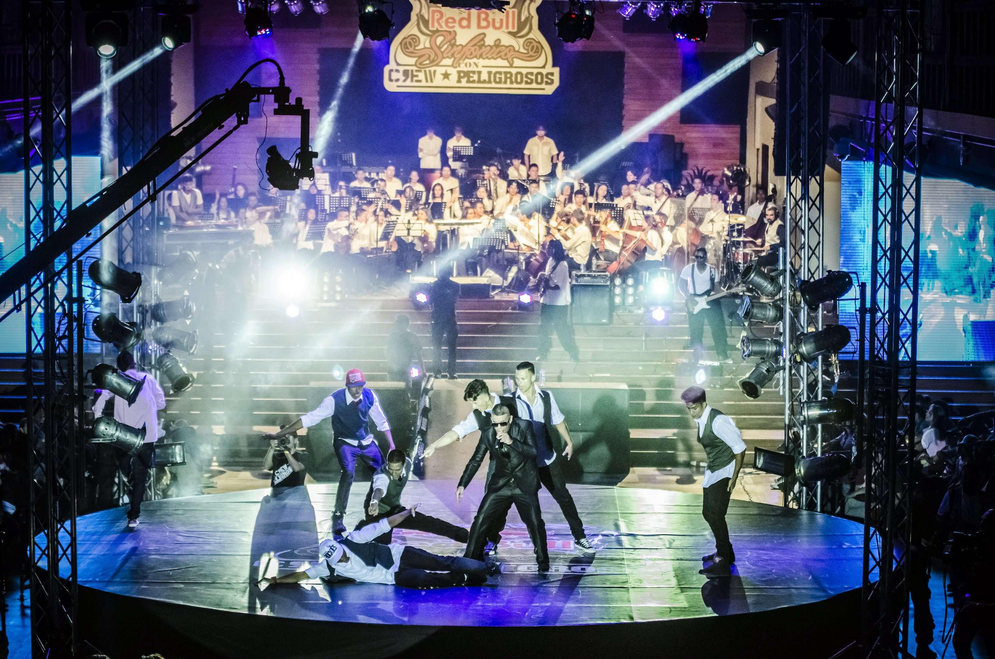 Crew Peligrosos en concierto. Foto: Cortesía Red Bull.