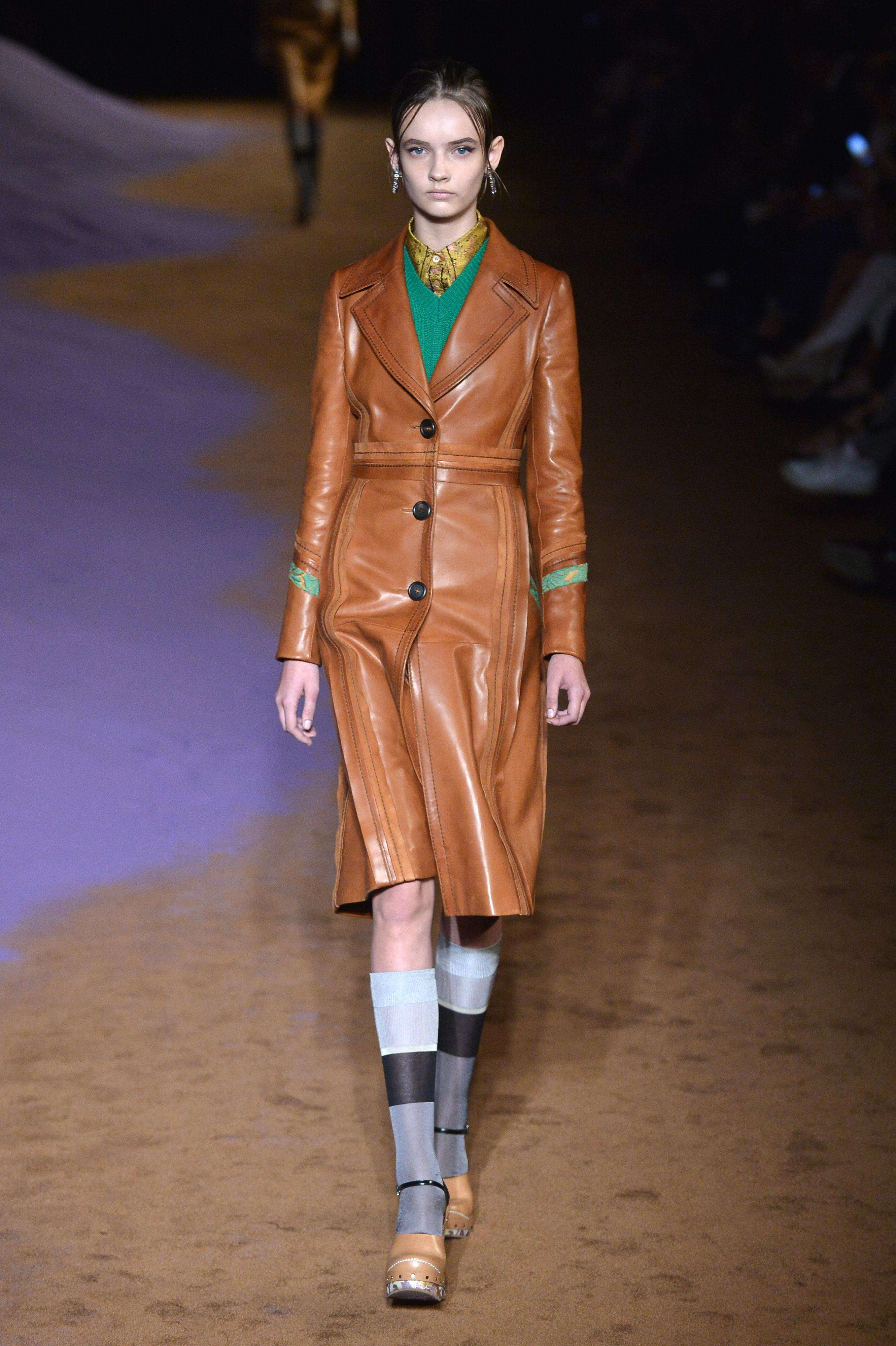 Prada milan Fashion week. Foto: AFP