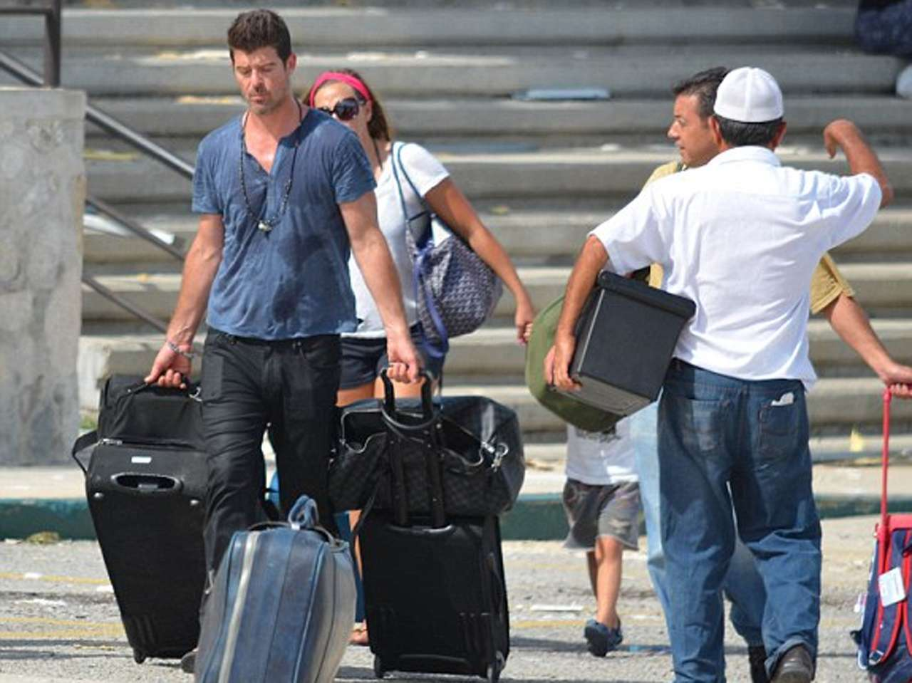 Robin Thicke. Foto: Daily Mail