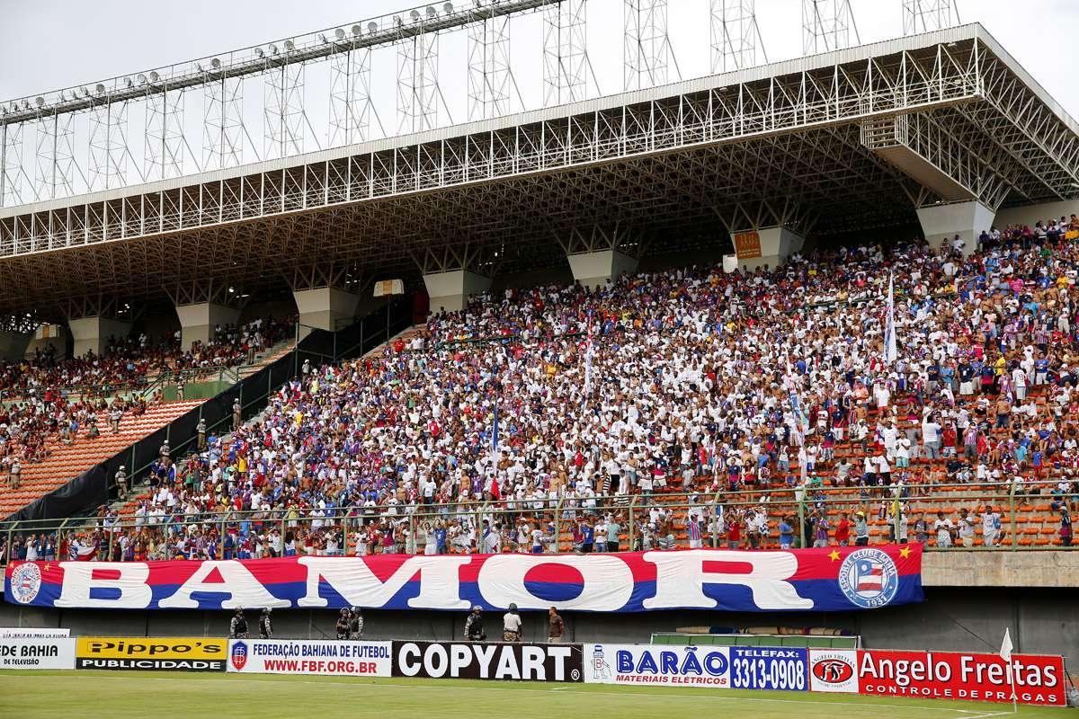 Bamor foi punida por incidentes em Feira de Santana; suspensão começa no Ba-Vi Foto: Felipe Oliveira/EC Bahia/Divulgação
