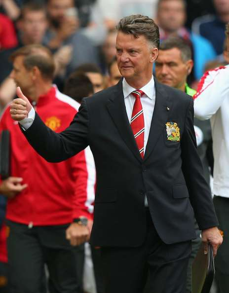 Van Gaal buscará su segundo triunfo con el United, este domingo, ante Leicester City. Foto: Getty Images