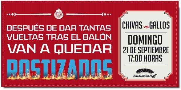 El desplegado del Guadalajara para 'calentar' a su próximo rival. Foto: Club Chivas