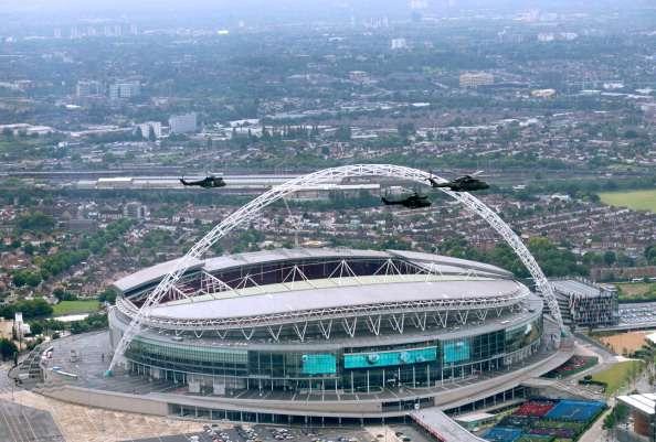 Sería la primera Final de una Euro para el nuevo Wembley. Foto: Getty Images