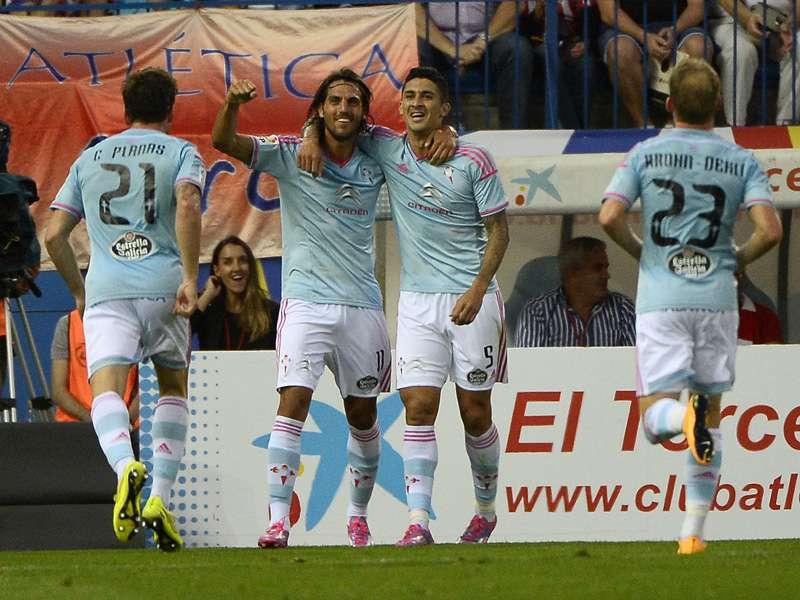Pablo Hernández enmudeció a la mitad de Madrid con un extraño golazo. Foto: AFP