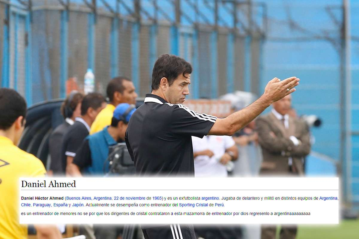 Daniel Ahmed llegó a Sporting Cristal esta temporada. Foto: Miguel Ángel Bustamante/Terra Perú