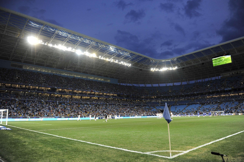 Grêmio está próximo de tomar conta de toda Arena Foto: Lucas Uebel/Getty Images
