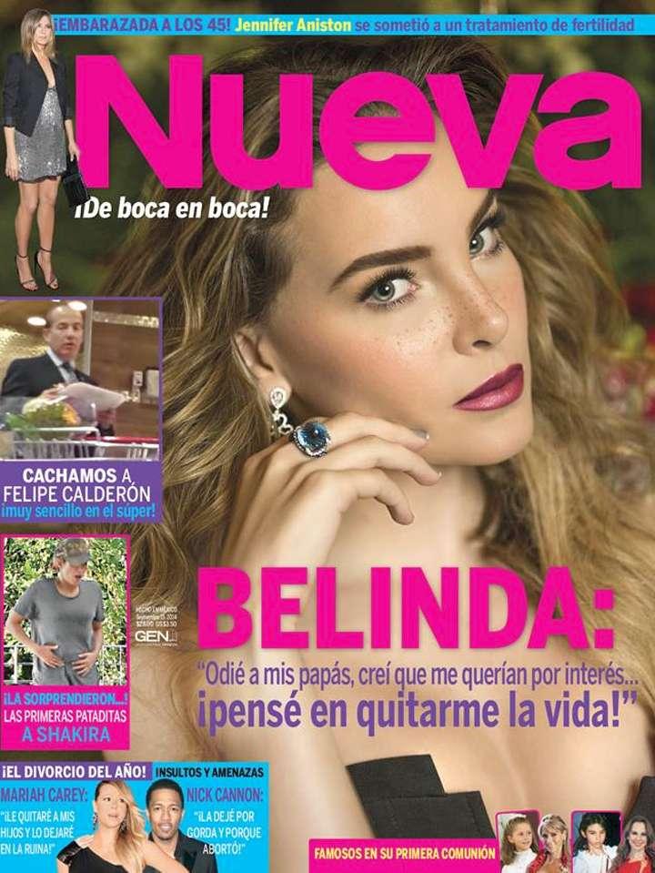 Belinda - Revista Nueva. Foto: Nueva