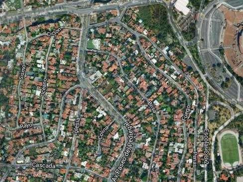 Aún se desconocen los daños a inmuebles que habría dejado la explosión. Foto: Google Maps