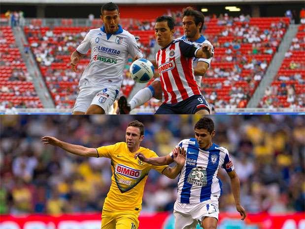 Chivas vs. Querétaro y América vs. Pachuca son los partidos más atractivos de la jornada 9. Foto: Especial/Mexsport/Imago7