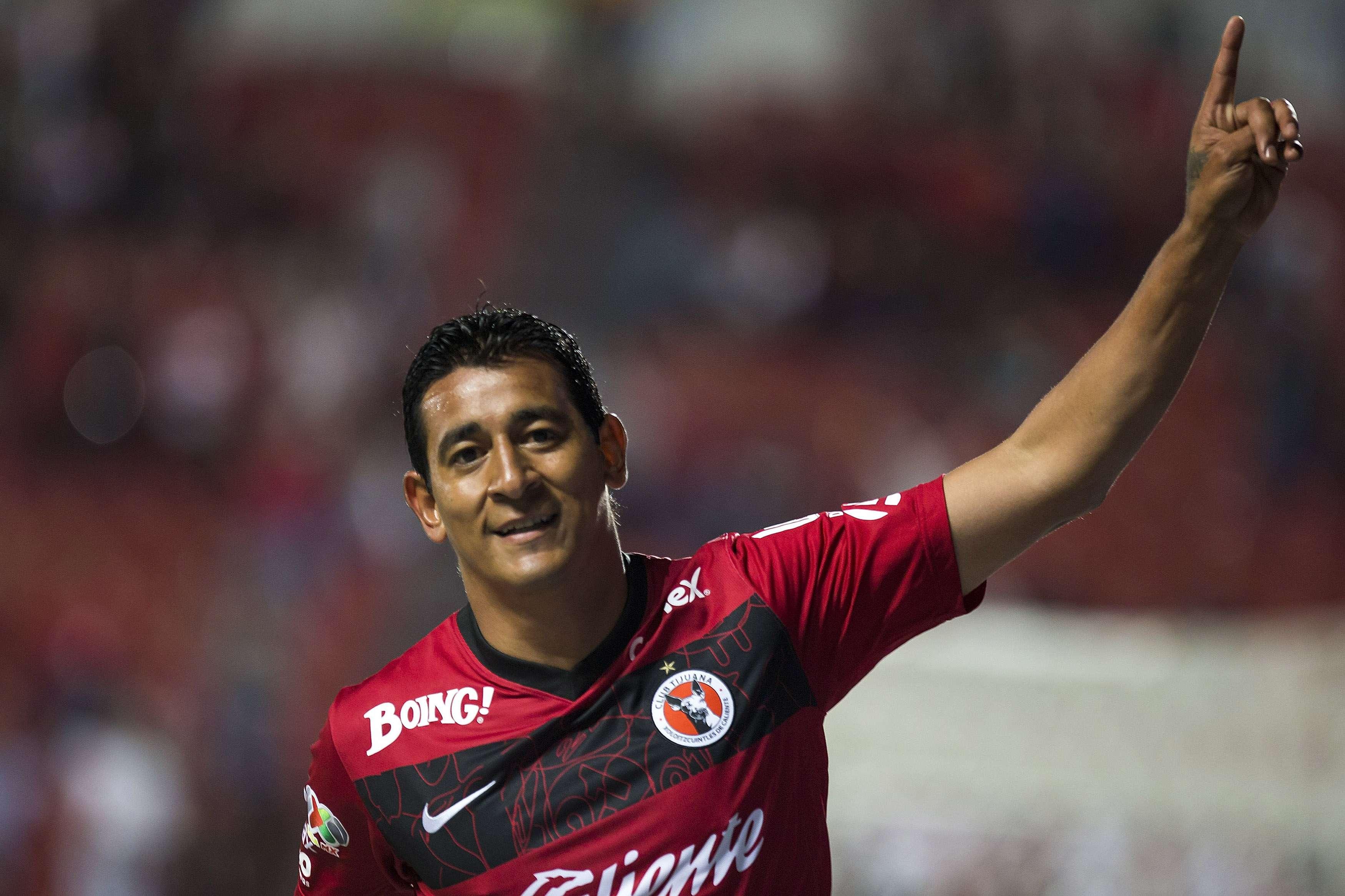 Alfredo Moreno llegó a tres goles en el Apertura 2014. Foto: Mexsport