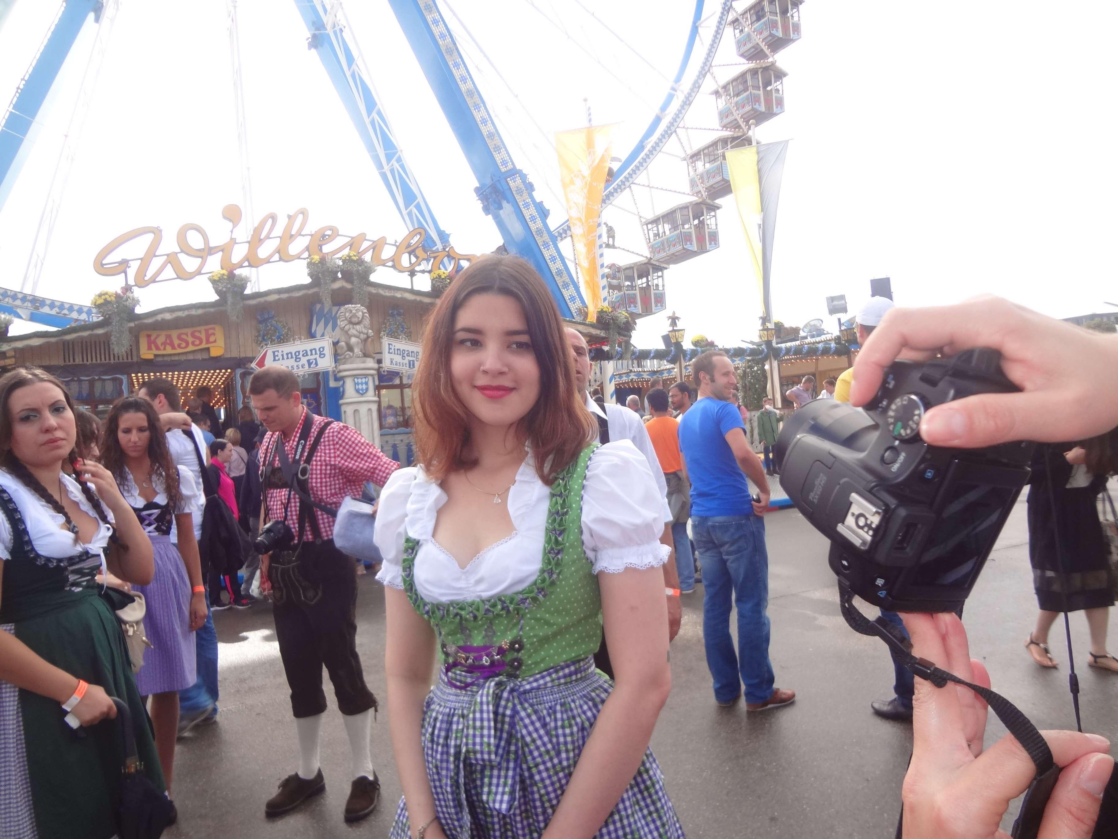 Leitor do Terra foi à festa e registrou imagens da celebração alemã