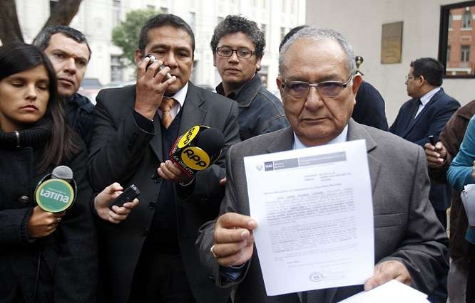 Procurador Julio Galindo. Foto: Andina