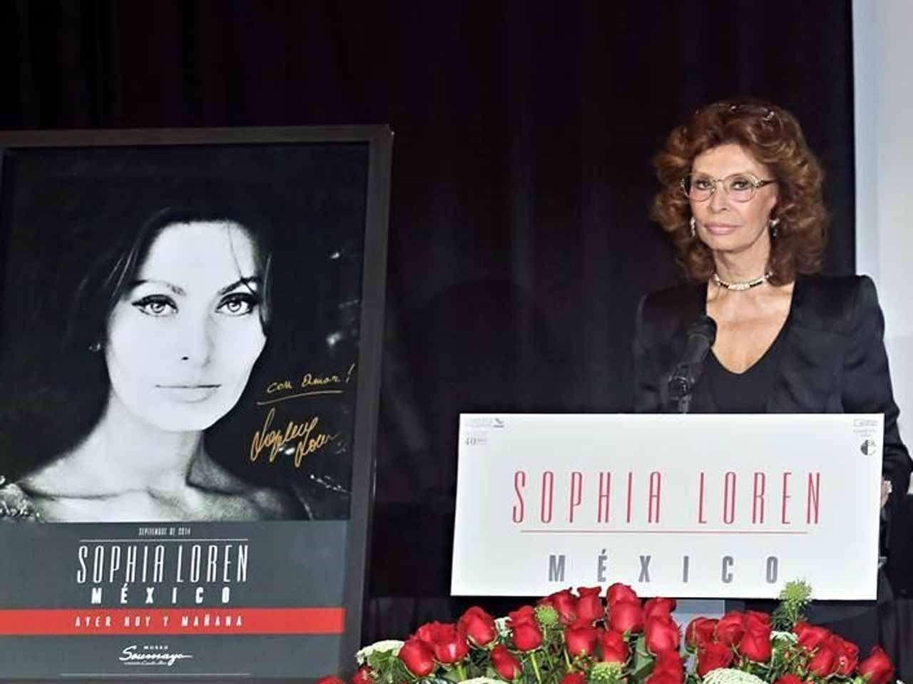 Sophia Loren Foto: Reforma