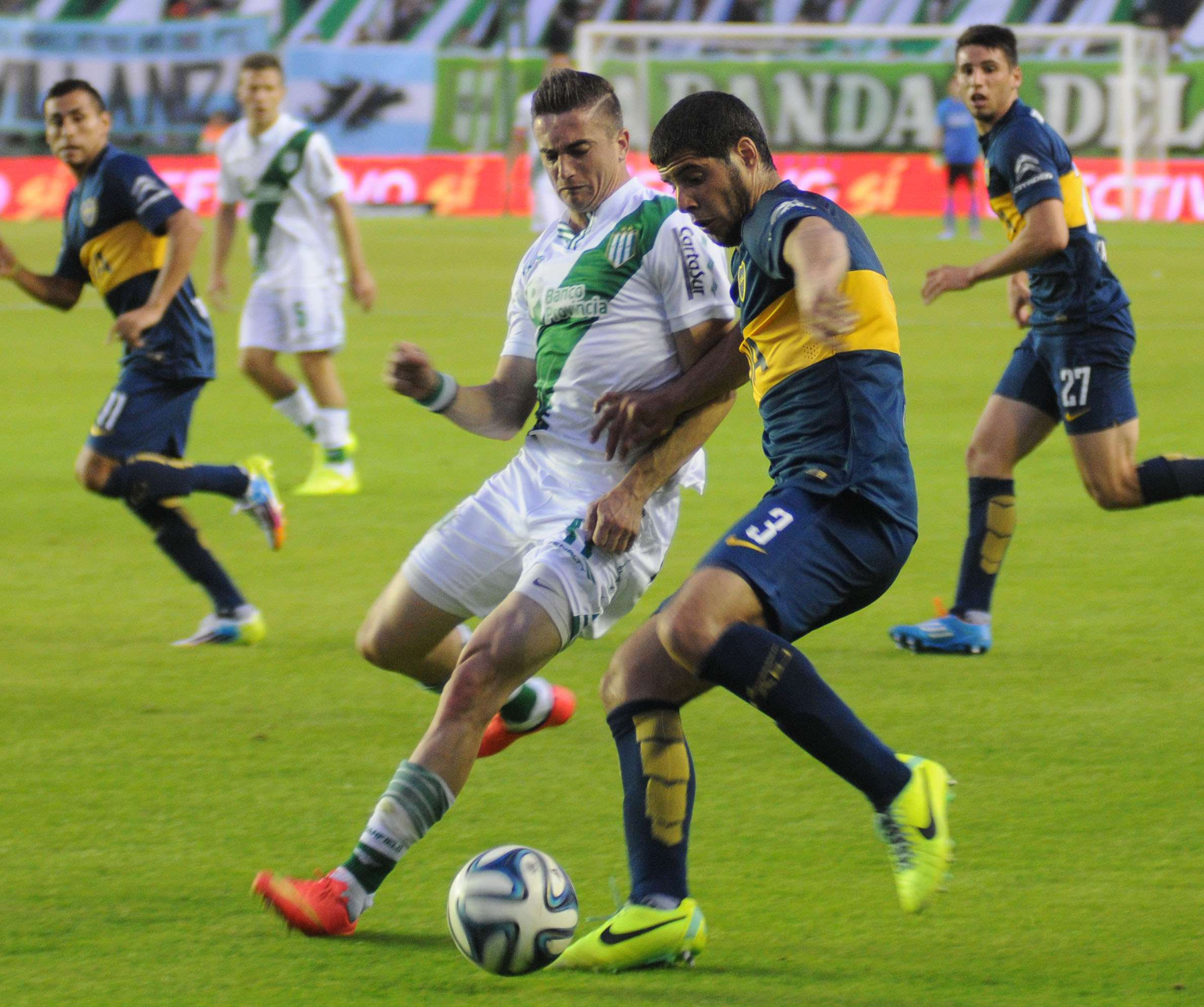 Banfield y Boca empataron 1 a 1 Foto: Agencias