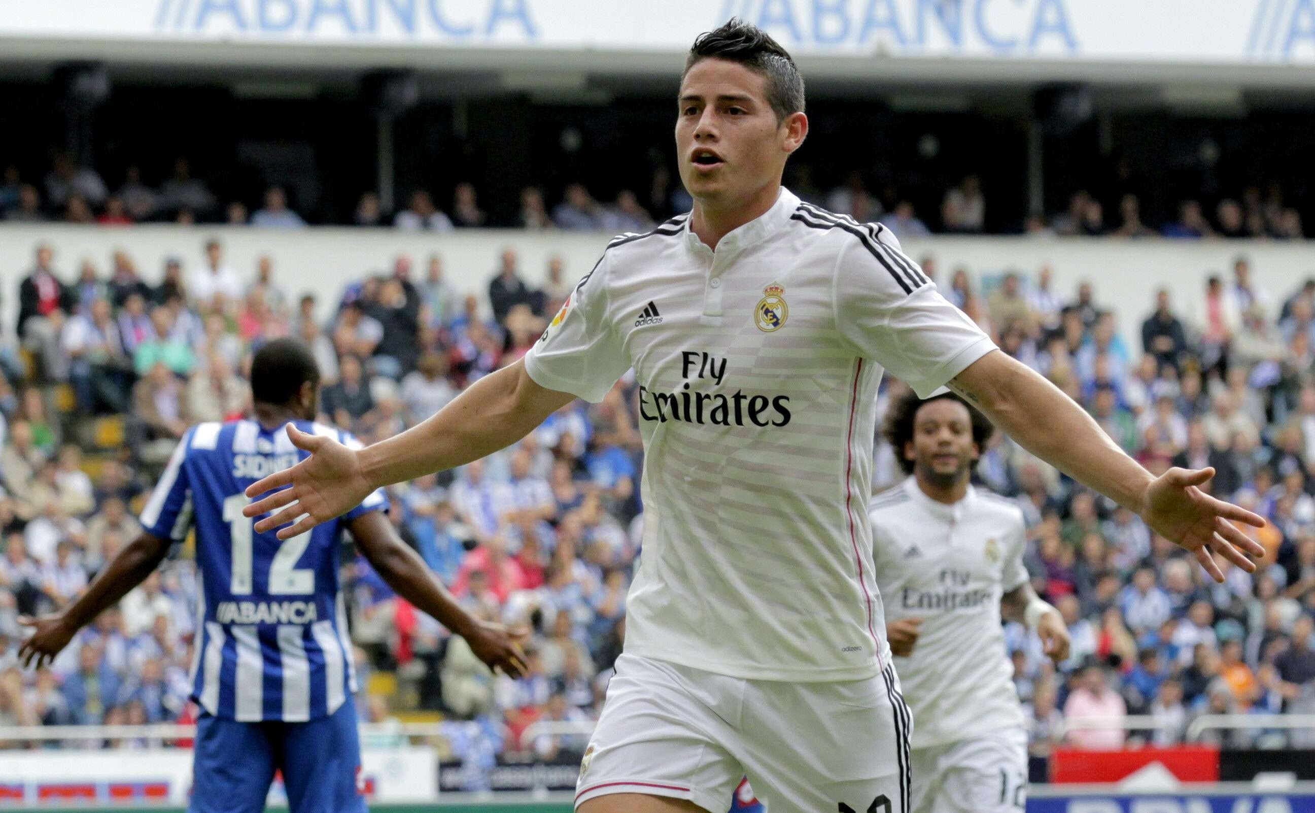 James Rodríguez. Foto: EFE