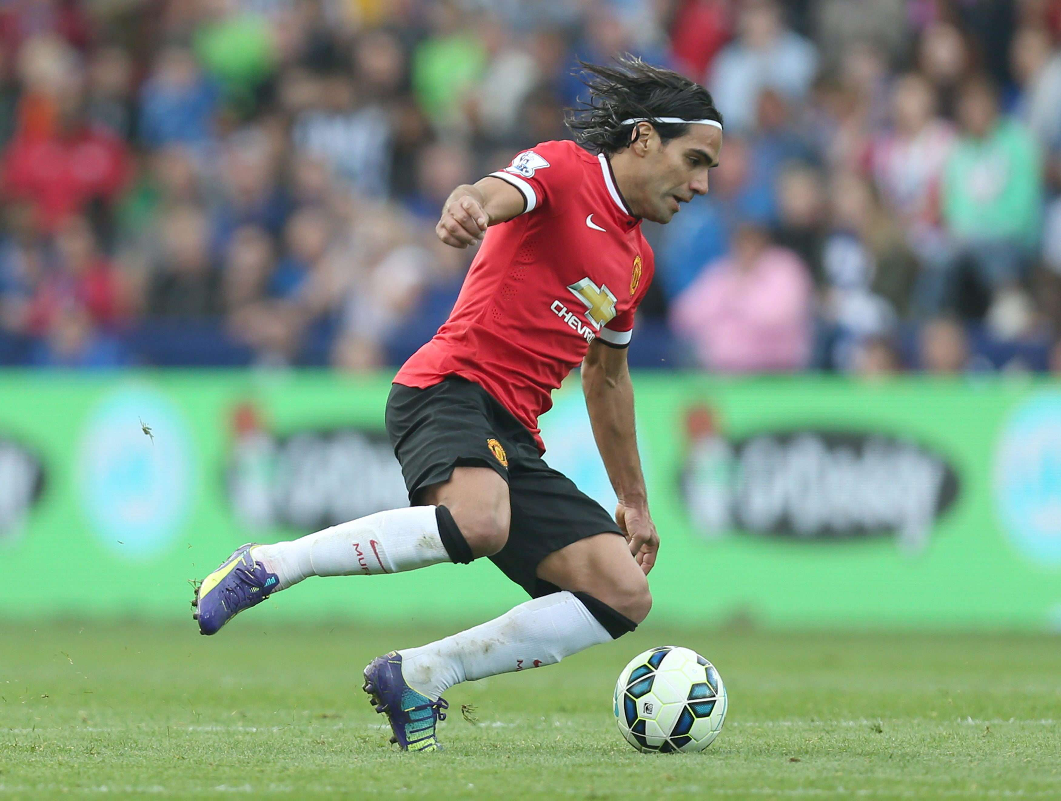 Falcao con el Manchester United. Foto: EFE