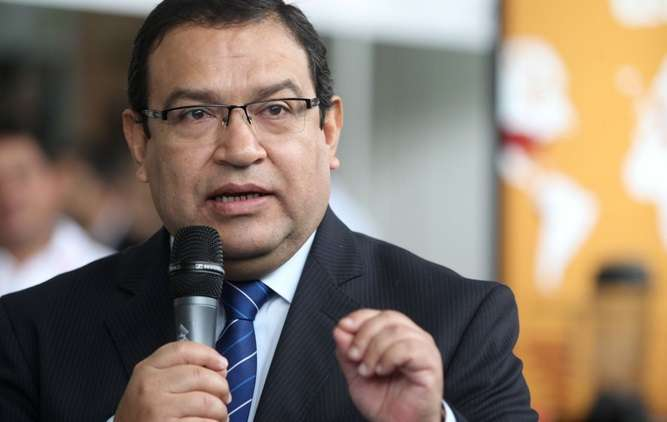 Jefe de Devida, Alberto Otárola. Foto: Andina