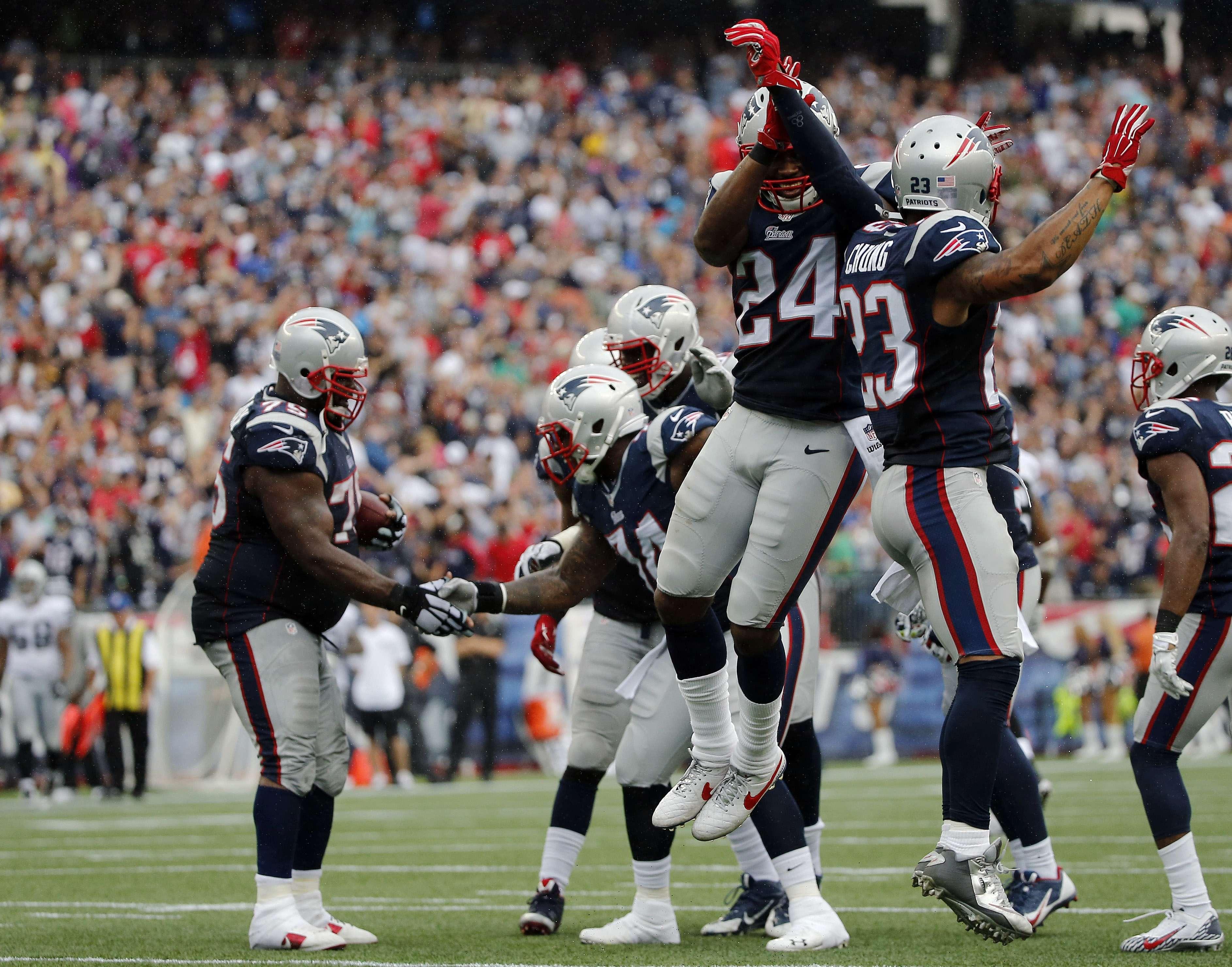 Los Patriots están 2-1 en el arranque de la campaña. Foto: AP