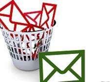 Emails en el correo de la basura Foto: BBC Mundo/Copyright