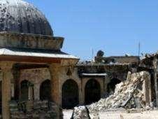 Minarete caído en Aleppo Foto: BBC Mundo/Copyright