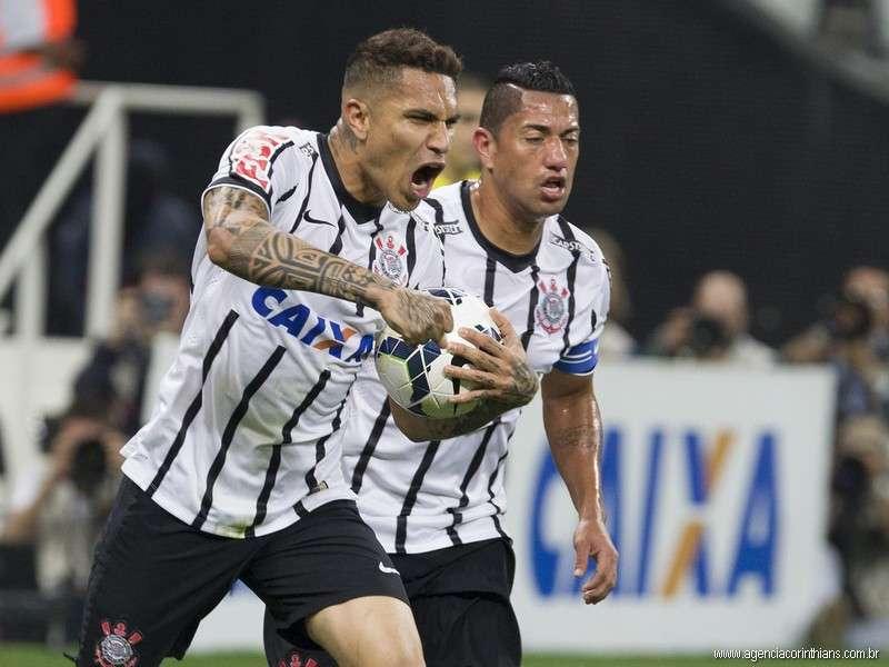 Con 7 tantos, Paolo Guerrero es el goleador de Corinthians en el Brasileirao. Foto: Agencia Corinthians