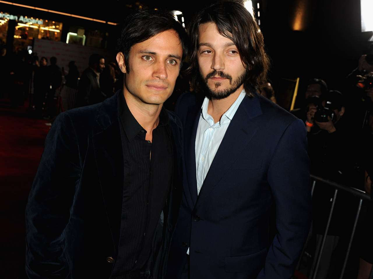 Gael García Bernal y Diego Luna. Foto: Getty Images