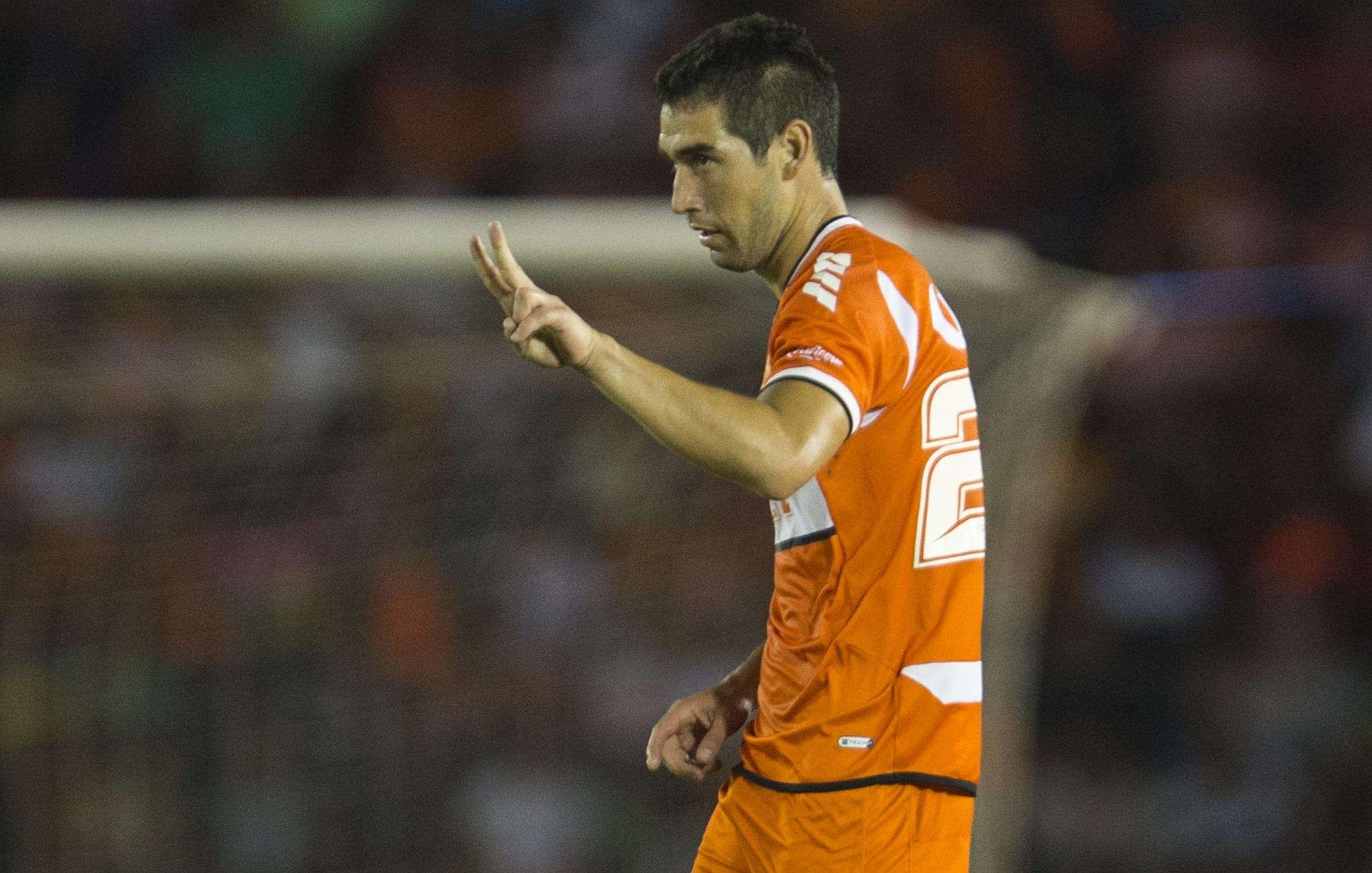 Roberto Saucedo fue el autor del gol con el que Correcaminos se impuso a Irapuato. Foto: Mexsport