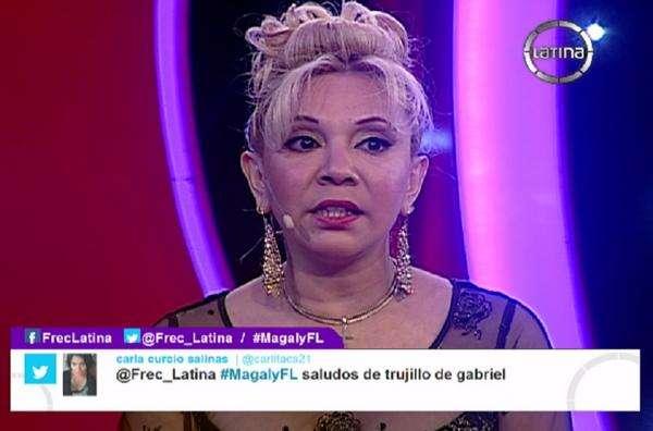 Mónica Adaro. Foto: Twitter Frecuencia Latina