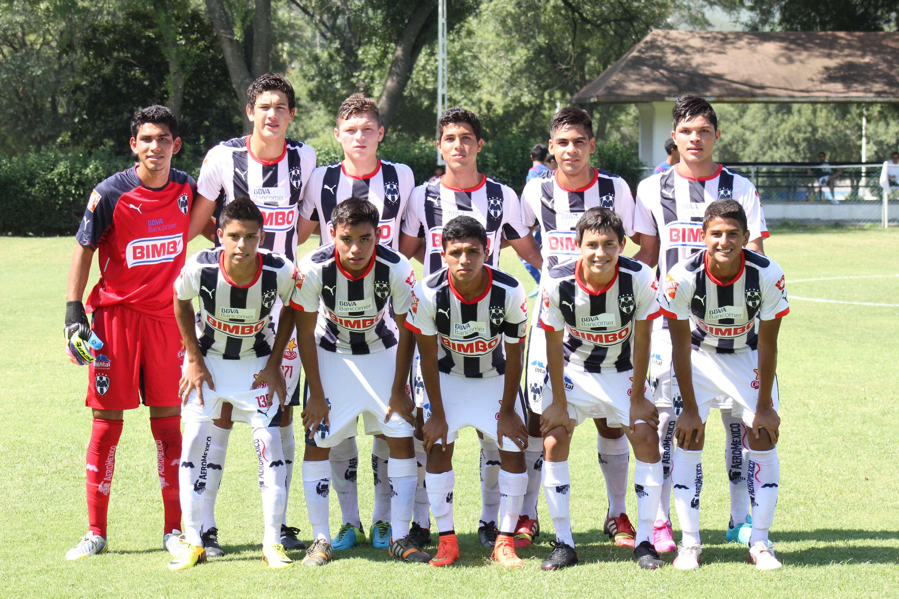 Rayados Sub 17. Foto: Eva Tamez/Rayados.com