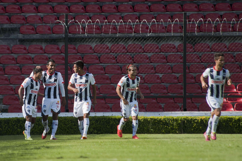 Rayados Sub 20 con un empate ante Toluca. Foto: Imago
