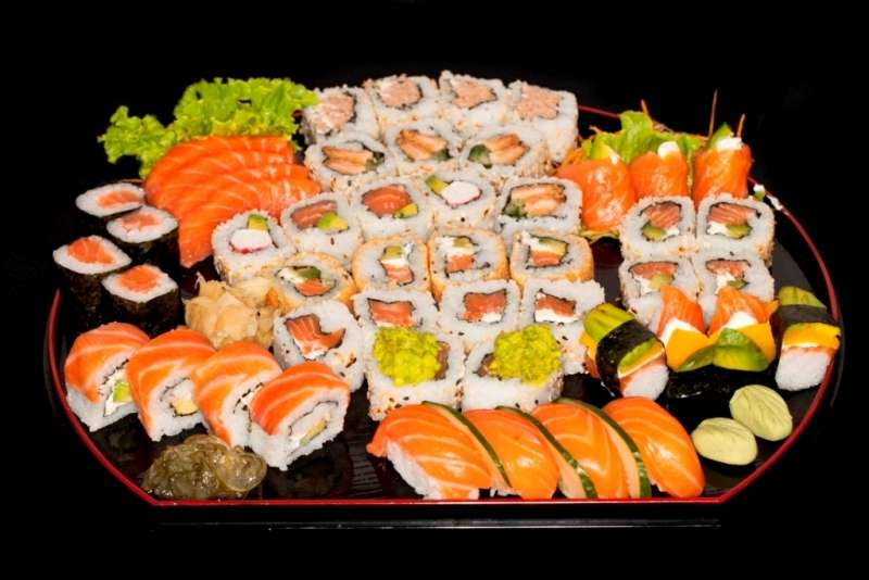 Creció el consumo de sushi Foto: Web