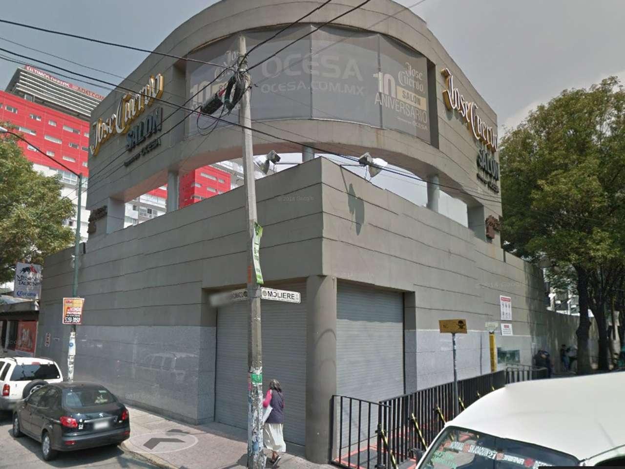 El local se sitúa en la calle Lago Andrómaco, 17 esquina con Moliére, Foto: Imagen tomada de Google Maps