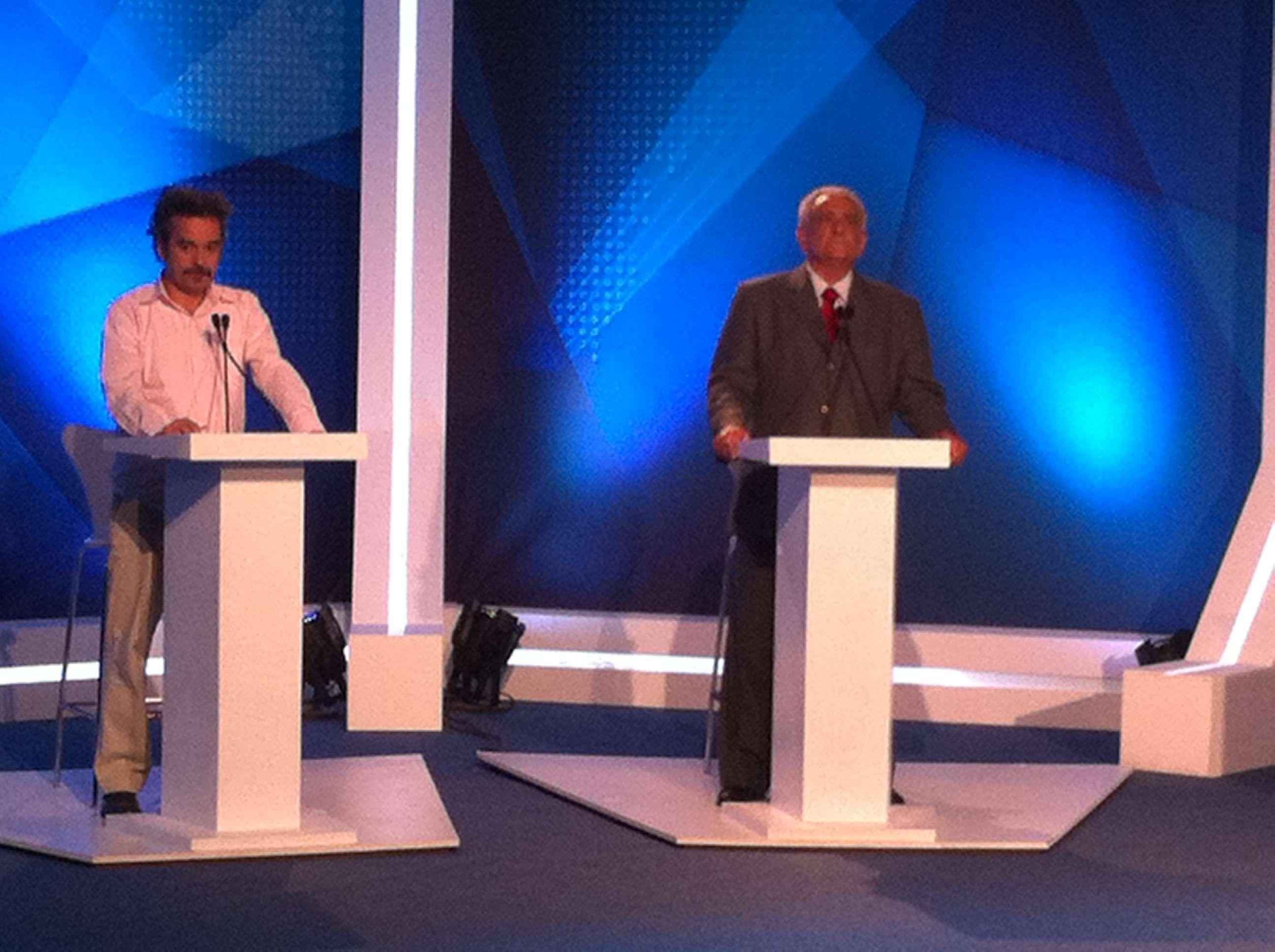 Costela do PT uma ova: frases do debate de candidatos de MG Foto: Ney Rubens/Especial para Terra