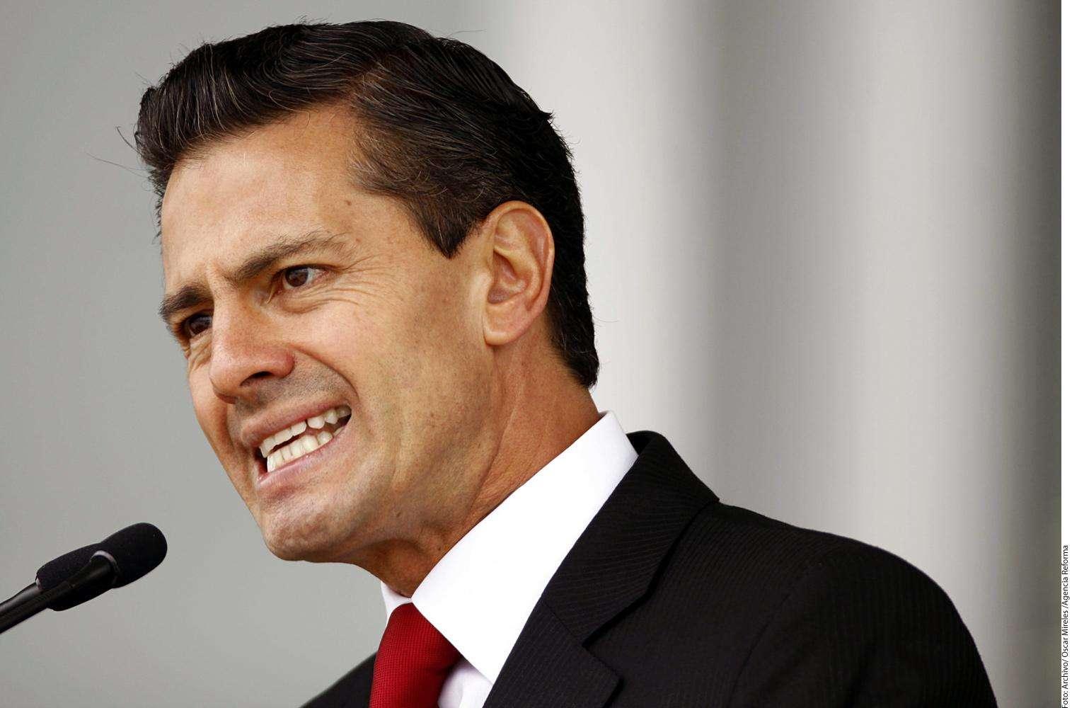 Enrique Peña Nieto Foto: Agencia Reforma