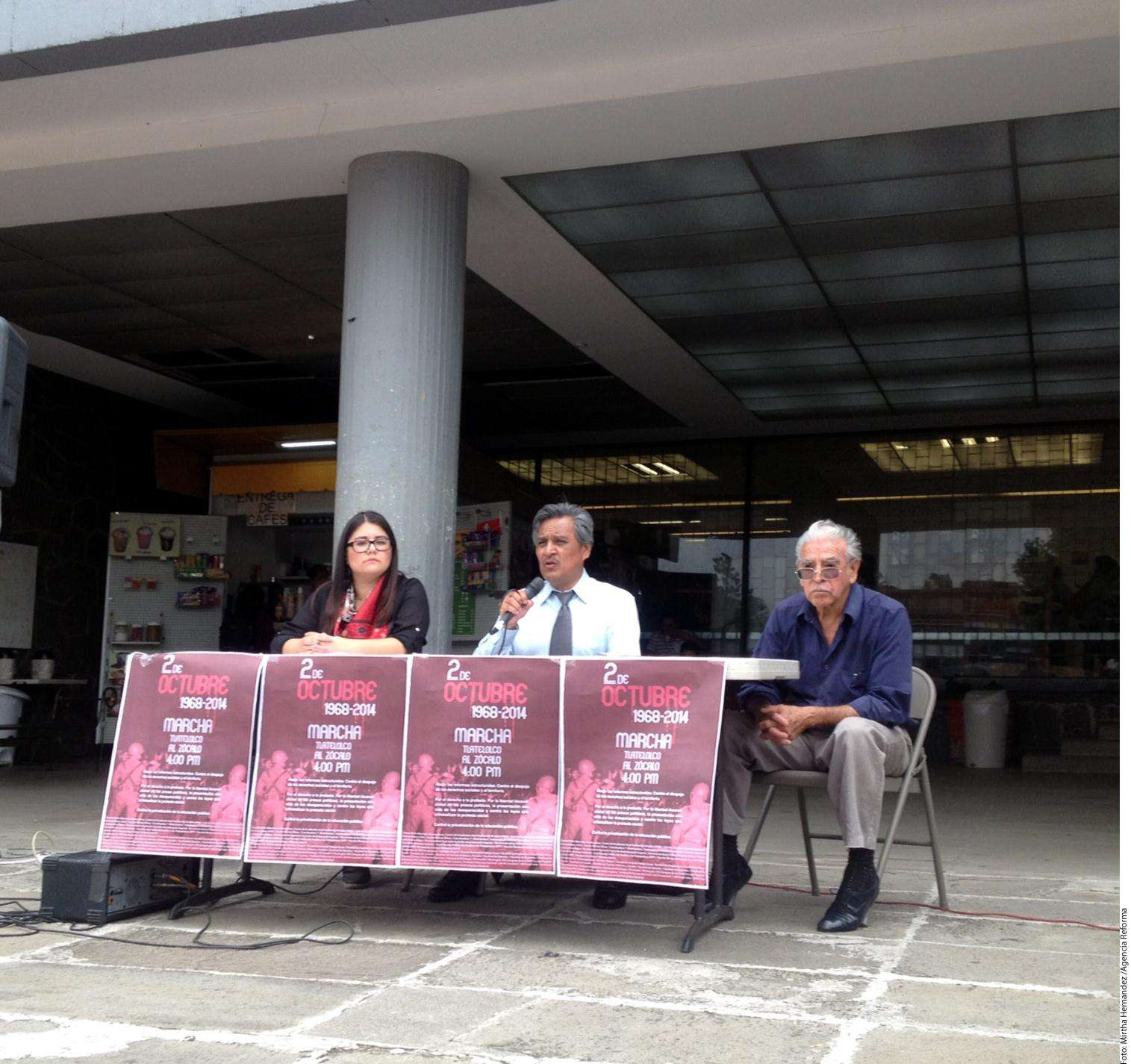 Comité del 68 Foto: Agencia Reforma