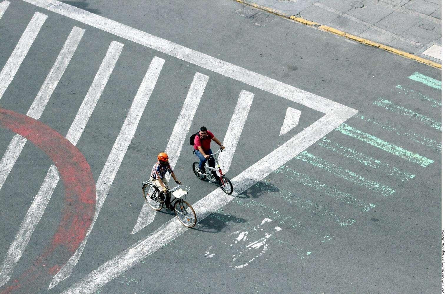 Día Mundial sin Automóvil Foto: Agencia Reforma