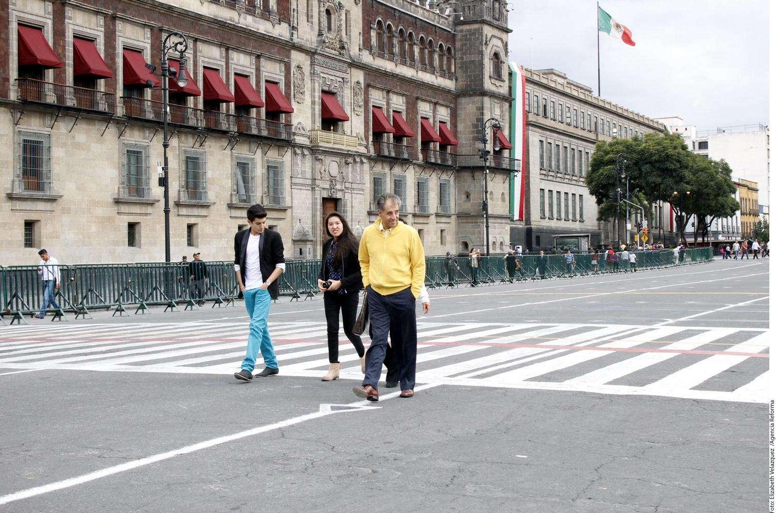 Zócalo Foto: Agencia Reforma